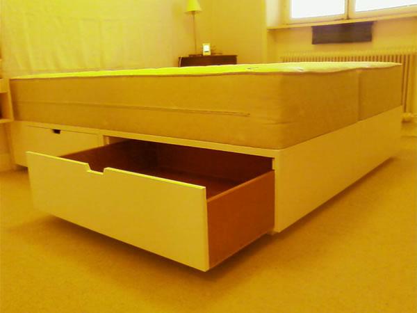 Sängstomme med förvaring Harmoni& Funktion